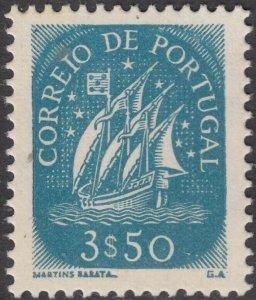 Portugal 1943 3e50 Caravel MUH