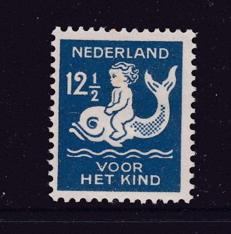 Netherlands a MH 12.5c from the 1929 Chold Welfare