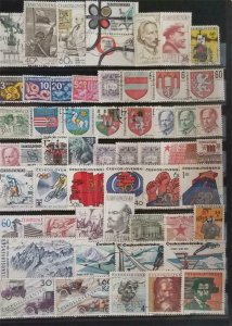 CZECHOSLOVAKIA Stamp Lot Used T1075