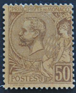 DYNAMITE Stamps: Monaco Scott #23 – UNUSED