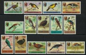Sierra Leone Scott 463-476 Mint Never Hinged