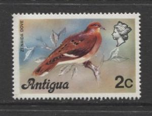 Antigua - Scott 407 - Zenaida Dove -1976 - MNH - 2c Stamp