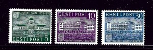 Estonia 144/145/147 MH 1939 issues
