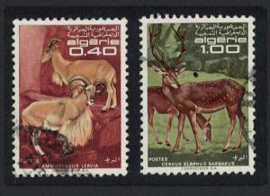 Algeria Protected Animals 2v Cancelled SG#520-521