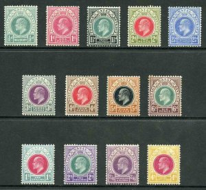 Natal SG127/39 KEVII wmk Crown CA M/Mint