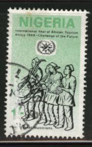 Nigeria Scott 233 used musician stamp