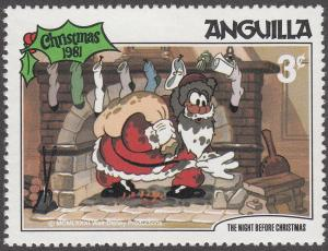Anguilla #455 The Night Before Christmas MNH