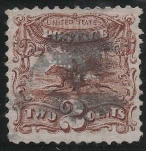 US Sc 113 Used VF Light Cancel CV $75