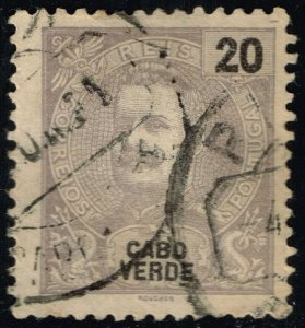 Cape Verde #41 King Carlos I; Used (2Stars)