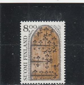 Finland  Scott#  639  MNH  (1983 Iron-Forged Door)