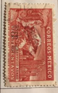 Mexico 1936 20c Lake Stamp