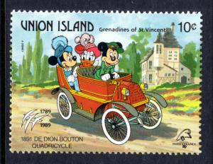 St Vincent Grenadines Union Island 246 Disneys MNH VF