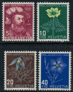 Switzerland #B187-90* NH  CV $4.00