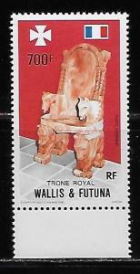 Wallis and Futuna Islands C162 Royal Throne single MNH