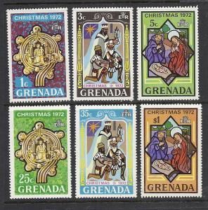 Grenada #475-80 comp mint cv $1.85 Christmas