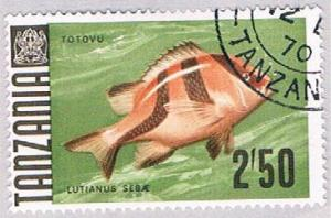 Tanzania 31 Used Emperor snapper 1967 (BP31827)