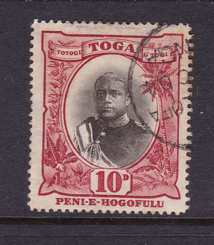 Tonga a good used 10d from the 1897 set