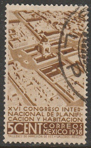 MEXICO 740, 5¢ Planification Congress, Used. F-VF.  (272)