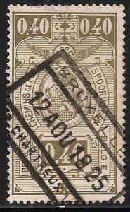 Belgium Parcel Post 1923 Scott# Q144 Used