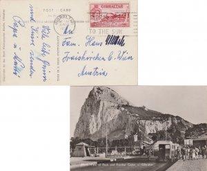 Gibraltar 2 1/2d QEII Sailing in the Bay 1958 Gibraltar Gibraltar Gateway To ...