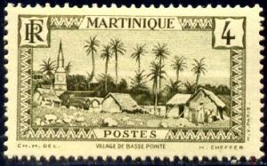 Village of Basse-Pointe, Martinique stamp SC#136 mint