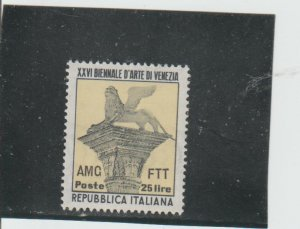 Trieste  Scott#  149  MH  (1952 Overprinted)