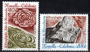 New Caledonia #634-5  MNH CV $3.00 (X7168)