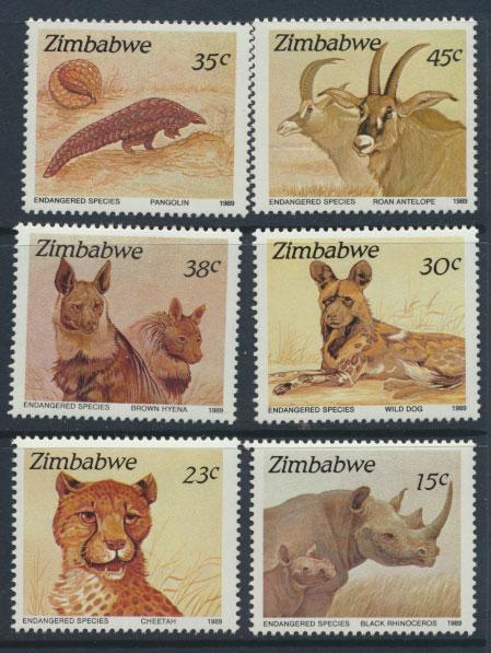 Zimbabwe SG 762 -  SG 767 set of 6 Mint Never Hinged