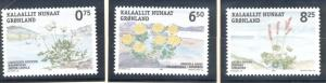 Greenland Sc 459-1 2005 Edible Plants stamp set mint NH