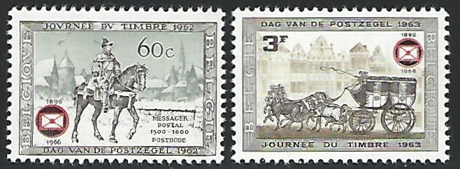 Belgium #677-678 Mint Lightly Hinged Full Set of 2