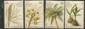 COCOS ISLANDS, 173-176, MNH, LIFE CYCLE OF COCONUT