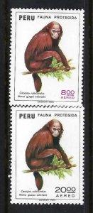 PERU C411-12 MOG FAUNA Q965