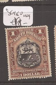 North Borneo SG 180 MOG (5dca)