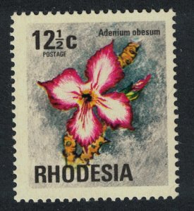 Rhodesia Pink Sabi Star Flower 12?c SG#499