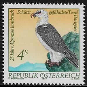 Austria #1411 MNH Stamp - Bearded Vulture