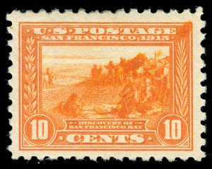 MOMEN: US STAMPS #404 MINT OG H VF+ LOT #70430