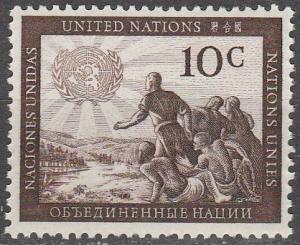United Nations  #6  MNH (S818)