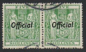 New Zealand Sc O91, used pair