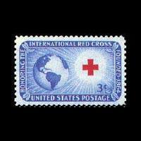 U.S.A. 1952 - Scott# 1016 Red Cross Set of 1 NH