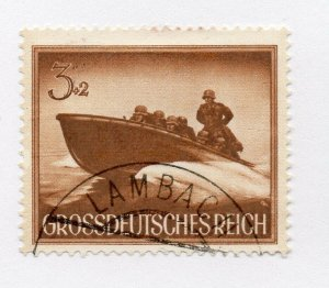 Germany 1943 Early Issue Fine Used 3pf. NW-100707
