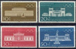 BRD Germany    Sc.# B 459-62   MNH**