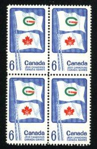 Can #500   Block   Mint NH VF 1969 PD