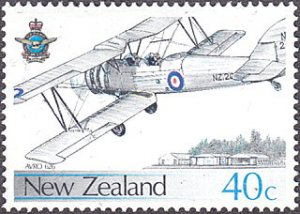 New Zealand # 872 mnh ~ 40¢ Air Force Airplane