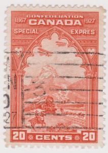 Canada - 1927 20c Orange Special Delivery VF Used #E3