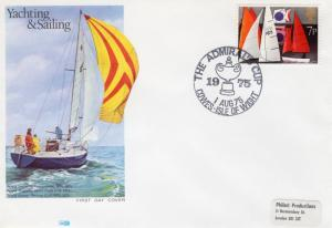 Great Britain 1975 THE ADMIRAL CUP COWES ISLE OF WIGHT Special Cover FDC