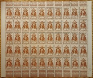 Somali Coast #174* NH  Post office fresh full sheet of 50  CV $87.50