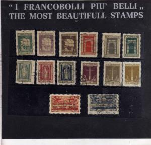 FIUME 1923 SAN VITO SERIE COMPLETA TIMBRATI