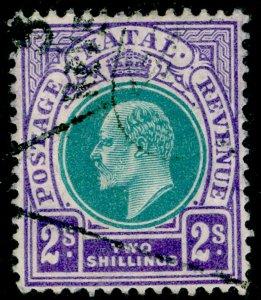 SOUTH AFRICA - Natal SG156, 2s dull grn & brt violet, USED. Cat £50. WMK MULT CA