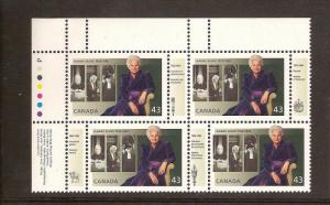 CANADA PLATE BLOCK MNH STAMPS #1509  LOT#619