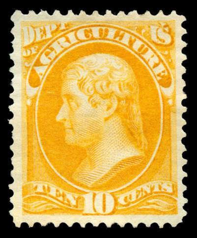 momen: US Stamps #O5 Mint OG XF PSE Cert
